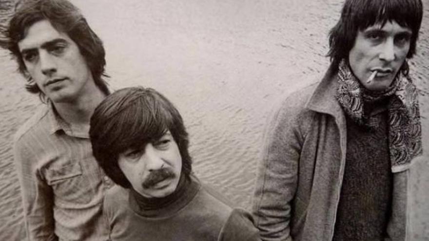 Componentes de la verdadera banda Triana: Juan José 'Tele' Palacios, Jesús de la Rosa y Eduardo Rodríguez