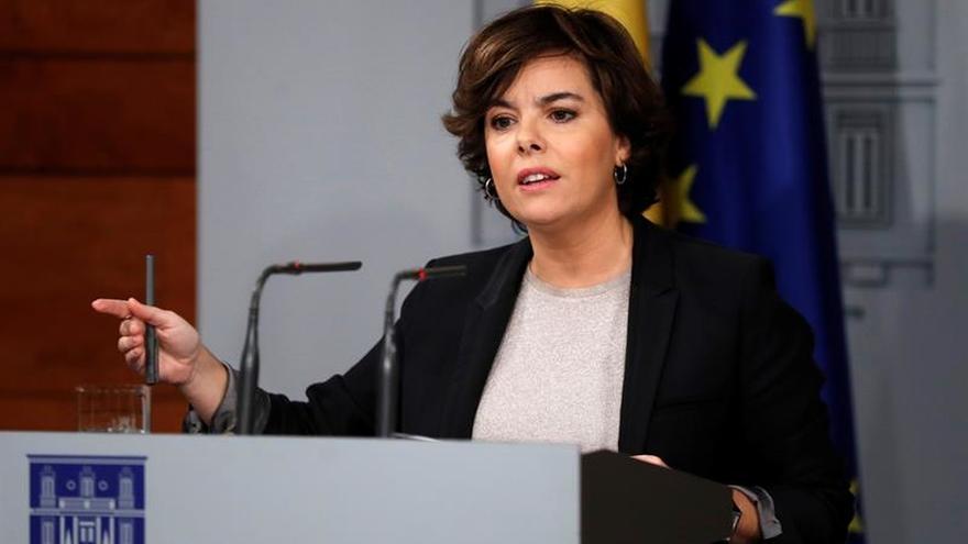 S.Santamaría: el Govern tiene una posibilidad, ir al Senado y hacer alegaciones