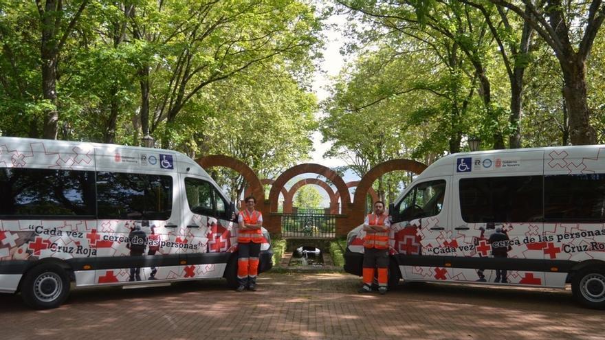 Cruz Roja incorpora tres nuevos vehículos a la flota de Transporte Adaptado y Asistido