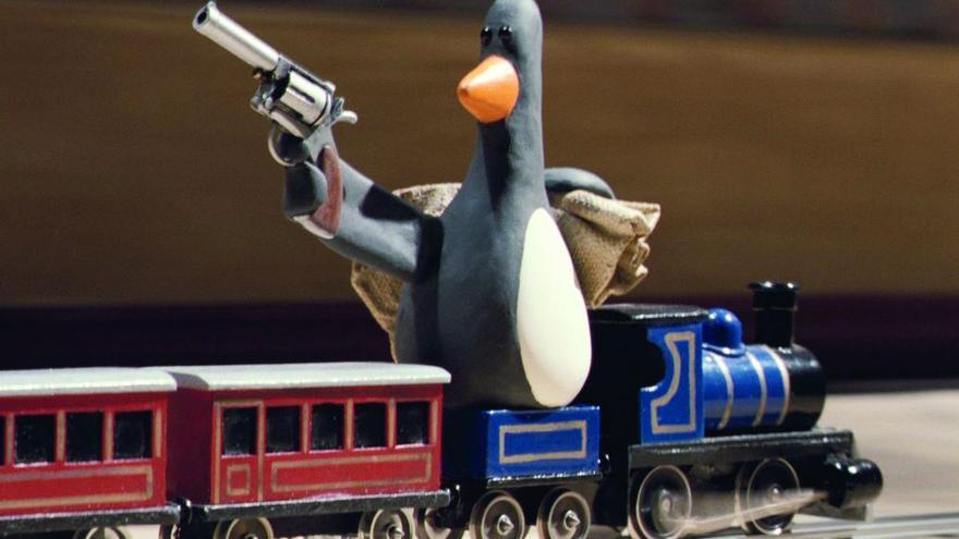 Feathers McGraw, un pingüino de armas tomar en 'Wallace y Gromit: Los pantalones equivocados'