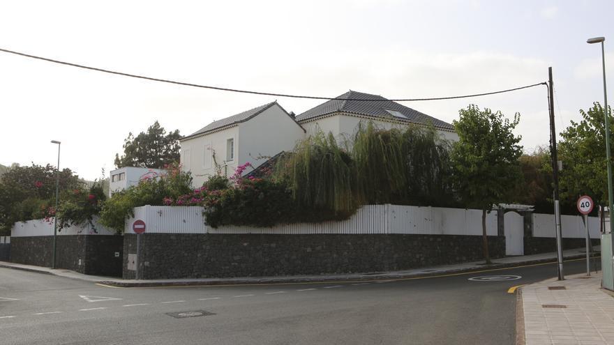 La vivienda del exministro José Manuel Soria en Tafira Alta.