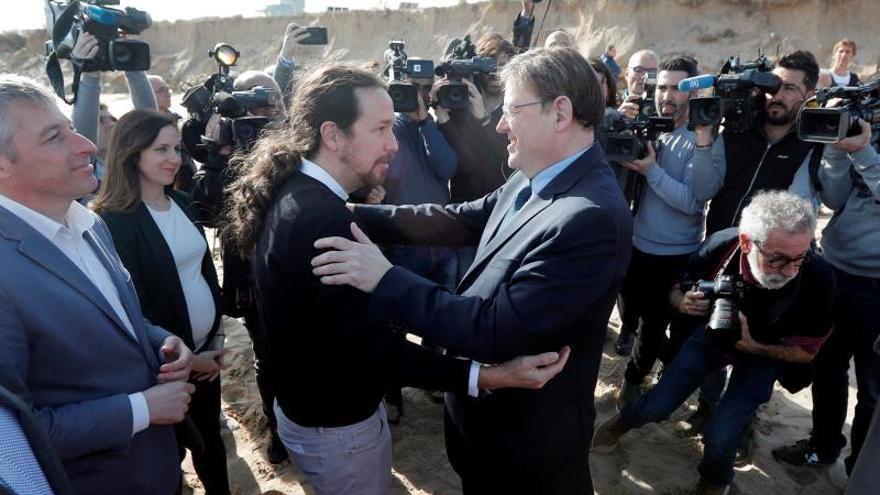 """Iglesias defiende el """"diálogo"""" con Torra como una """"obligación"""" de Sánchez"""