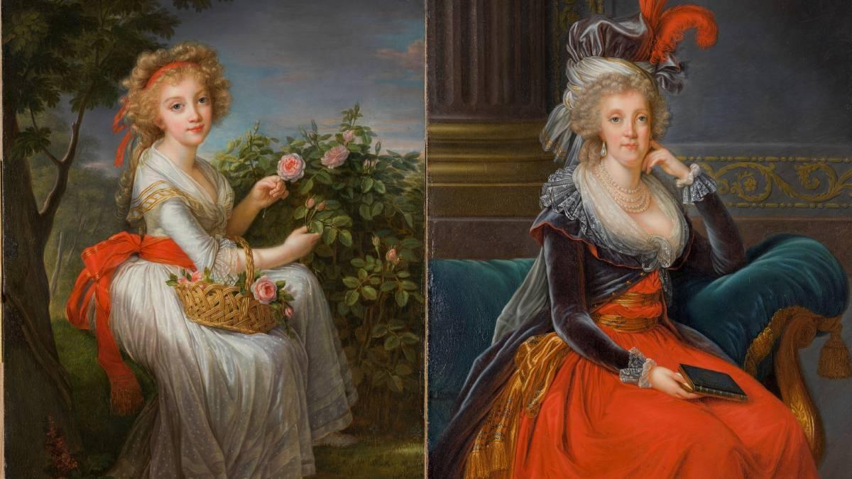 Los dos retratos de Vigée Le Brun de los que el Prado expone copias