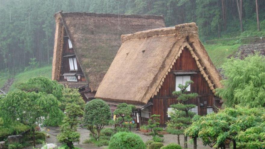 Las cabañas de Shirakawa-gō y Gokayama ha sido declaradas Patrimonio Mundial de la Unesco. Bryan Barber