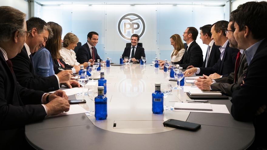 Comité de Dirección del PP, el pasado lunes.
