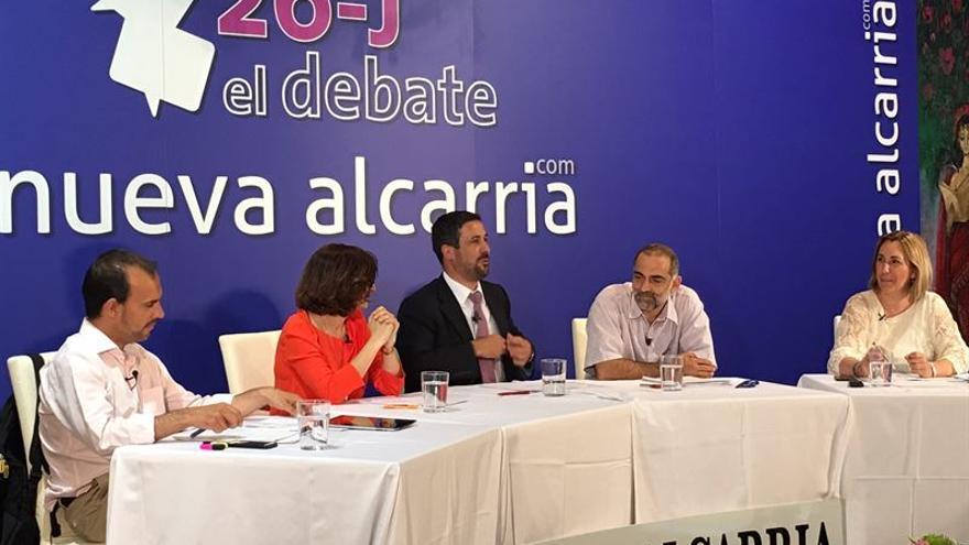 Debate a cuatro en Guadalajara