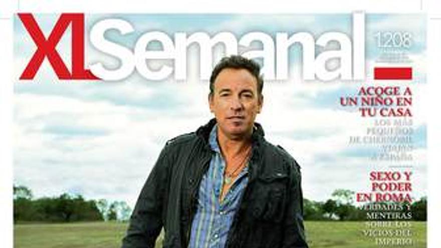 Portada de XL Semanal con Bruce Springsteen