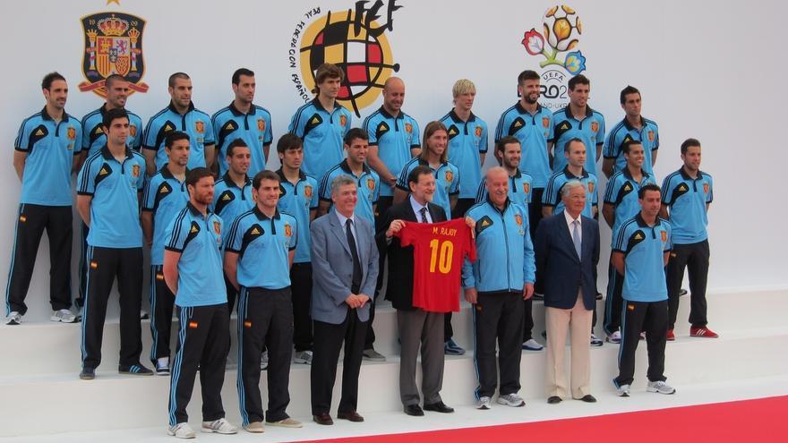 Rajoy despide hoy en Las Rozas a la selección española de fútbol antes de viajar al Mundial de Brasil