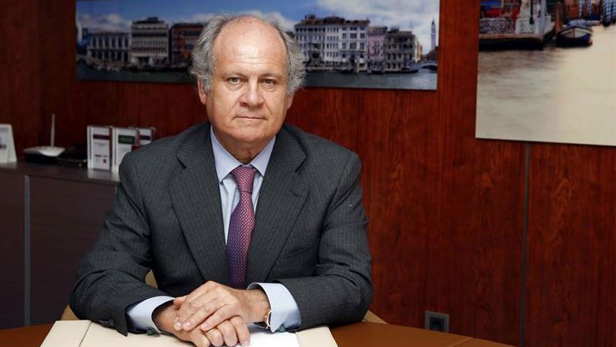 El presidente de Binter, Pedro Agustín del Castillo. EFE/Elvira Urquijo A.