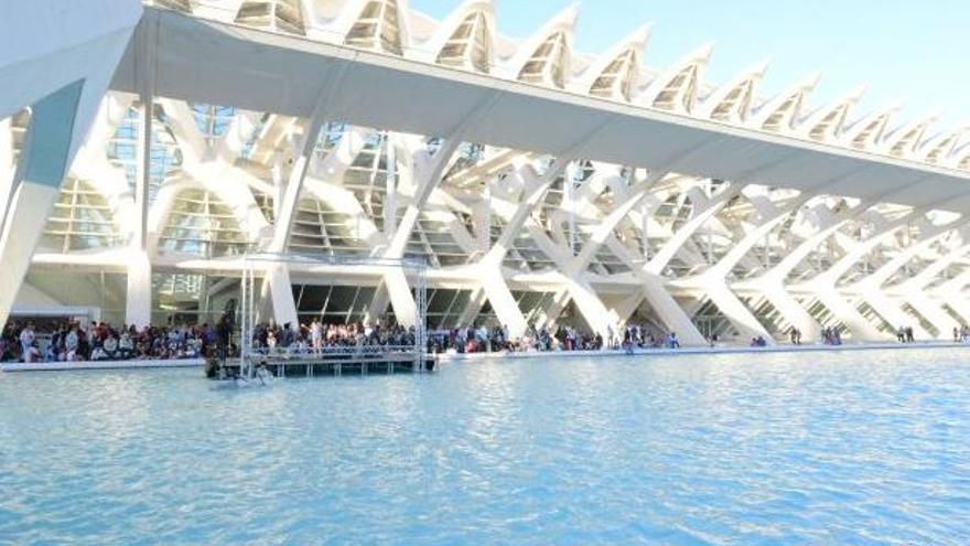 'Un lago de conciertos' en la Ciudad de las Artes y las Ciencias