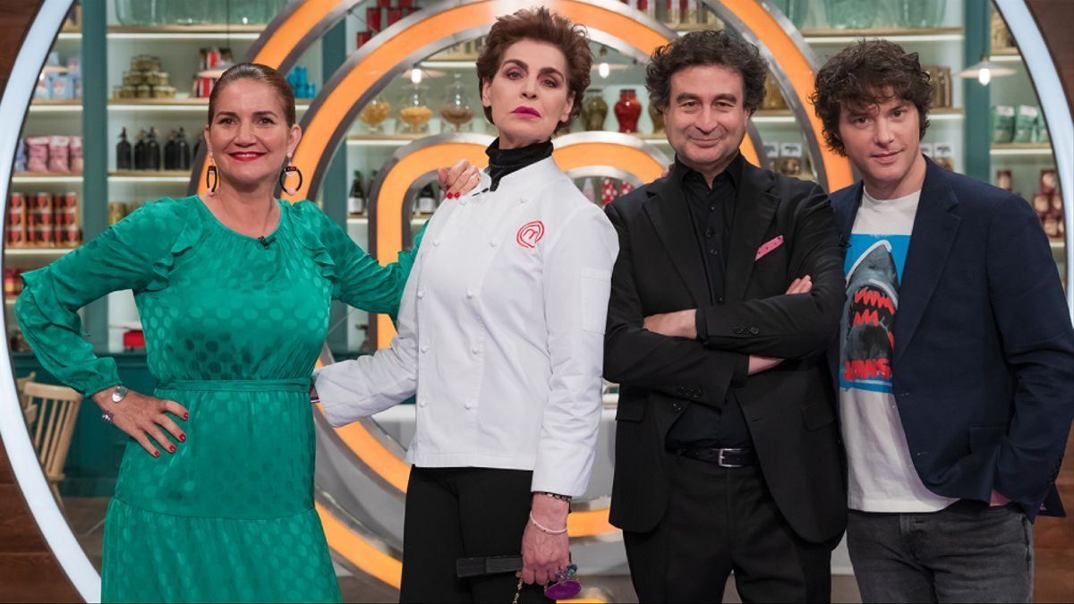 Antonia Dell'Atte en el programa de 'MasterChef Celebrity 6'