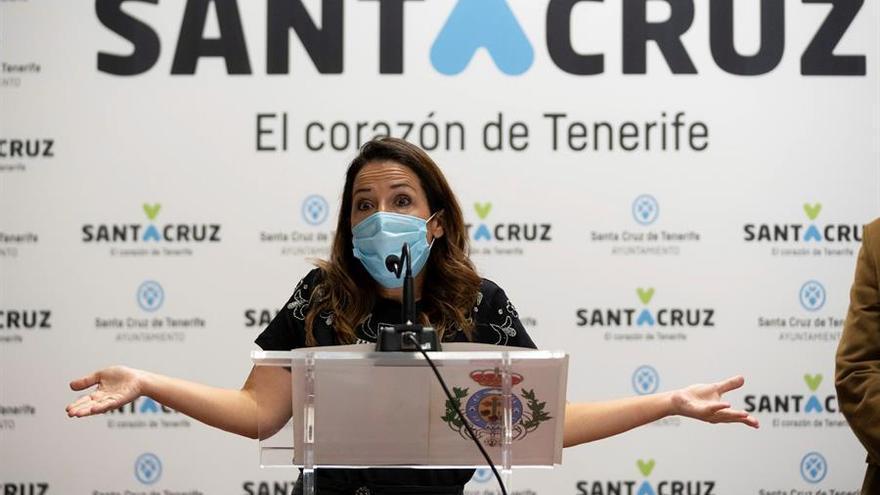 """Los cien días de Bermúdez al frente de Santa Cruz: el PSOE denuncia la """"parálisis"""" de la capital y ve al alcalde """"agotado"""""""