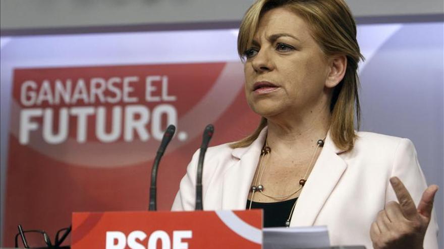 "Elena Valenciano califica de ""asesina en serie"" a la violencia machista"