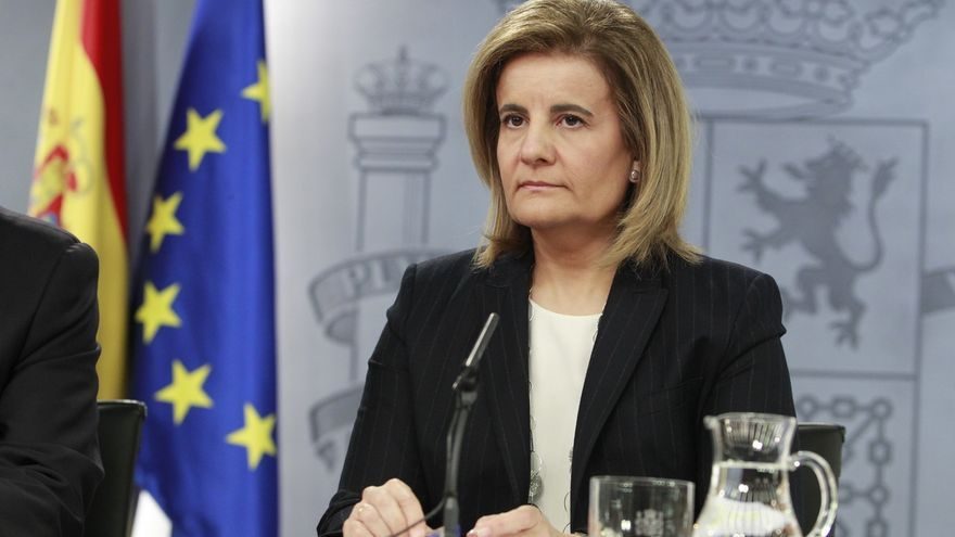 Fátima Báñez, citada este lunes en la comisión de investigación sobre los cursos de formación