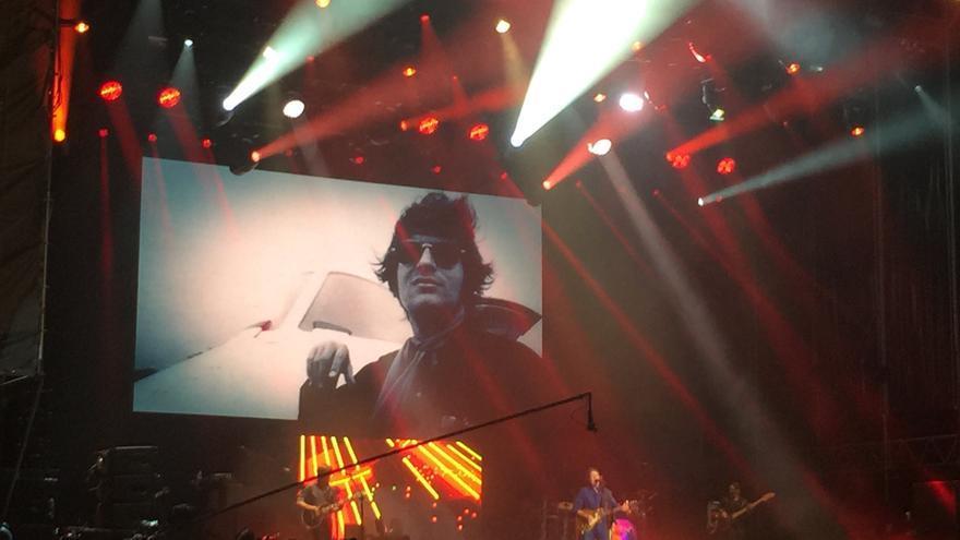 John Fogerty, en el escenario God del Azkena Rock Festival.