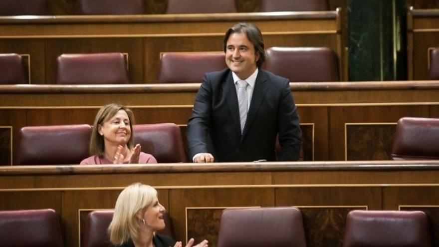 Diego Movellán toma posesión de su escaño en el Congreso de los Diputados