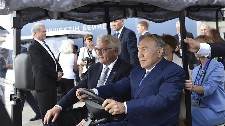 Alemania y Kazajistán afianzan lazos en la Expo Astaná 2017