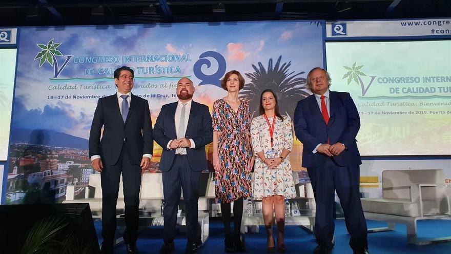 Congreso Internacional de Calidad Turística celebrado el pasado mes de noviembre en Puerto de la Cruz.
