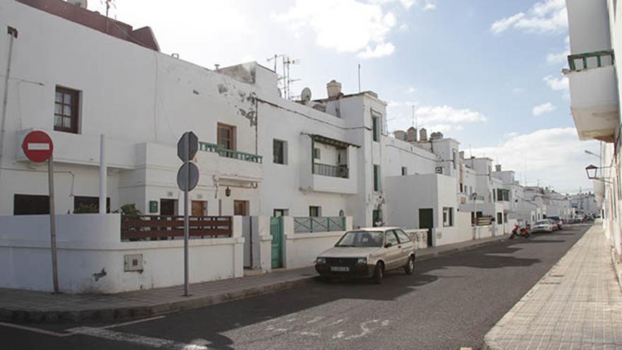 Bloque de viviendas a renovar por completo en el barrio de Valterra