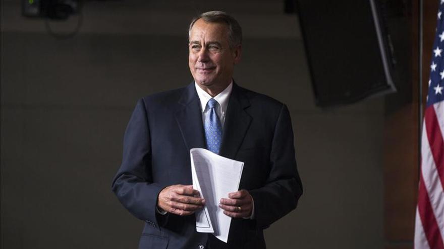 Boehner advierte de que no habrá reforma si Obama actúa en inmigración