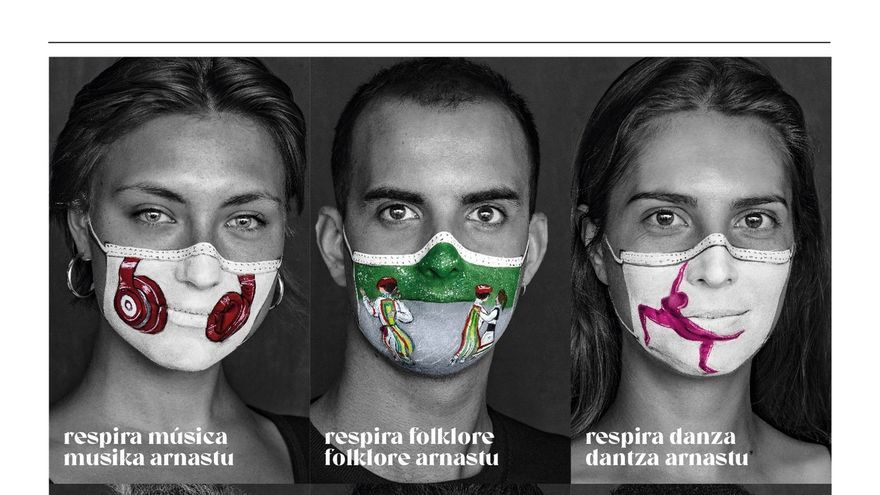 El Gobierno foral lanza la campaña 'Respira Cultura' en la que invita a regresar a los espacios culturales