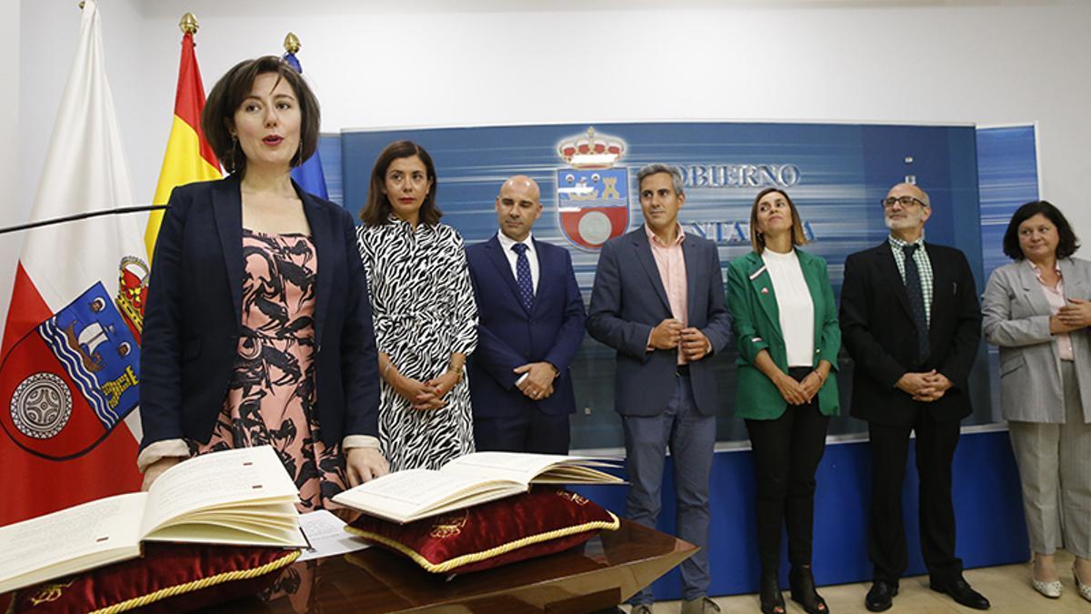 Paloma Navas tomó posesión en septiembre de 2019.