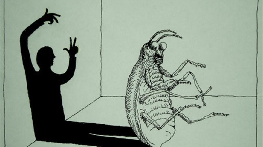 Ilustración sobre 'La metamorfosis' de Kafka / Peter Kuper