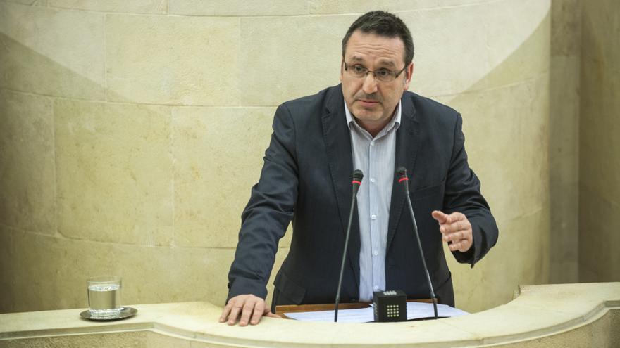 Juan Ramón Carrancio.   JOAQUÍN GÓMEZ SASTRE