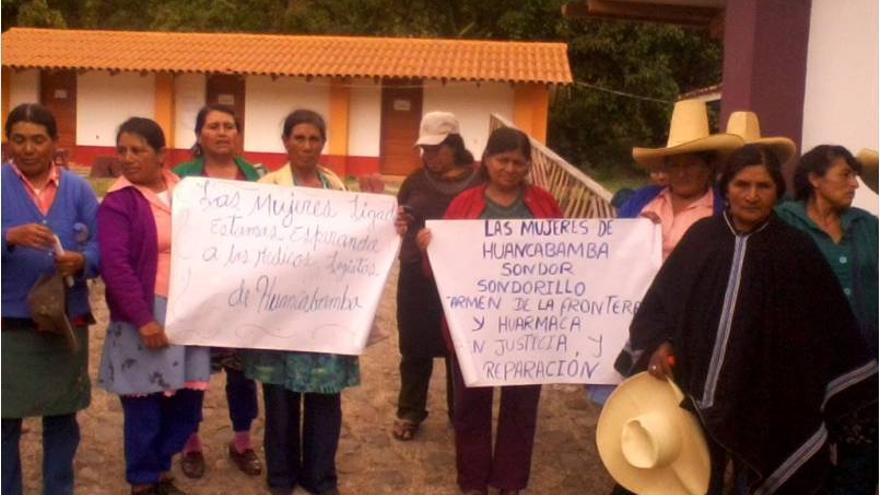 Protesta contra la impunidad de las esterilizaciones forzadas./ Alianza por la Solidaridad