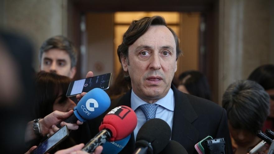 """Hernando (PP) dice a los independentistas que si ha habido una conspiración ha sido la suya """"para romper España"""""""
