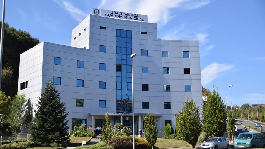Inaugurada la nueva sede de la Guardia Municipal de San Sebastián en Morlans