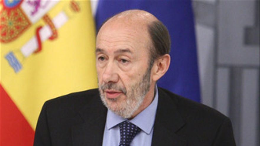 El vicepresidente del Gobierno, Alfredo Pérez Rubalcaba
