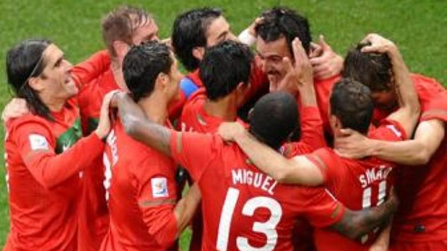 Portugal ha protagonizado la mayor goleada del Mundial hasta ahora. (EUROPA PRESS)