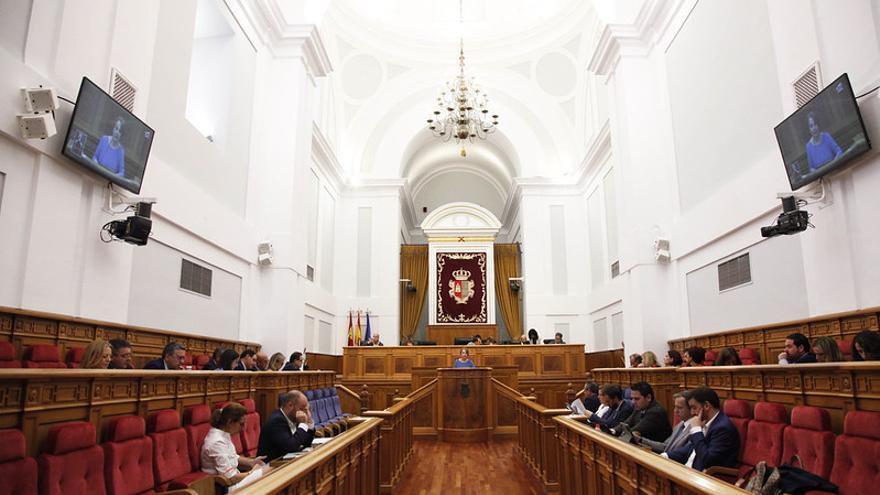 Un pleno en las Cortes de Castilla-La Mancha