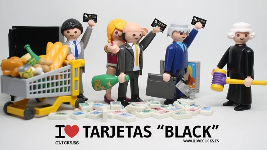 I love tarjetas 'black'