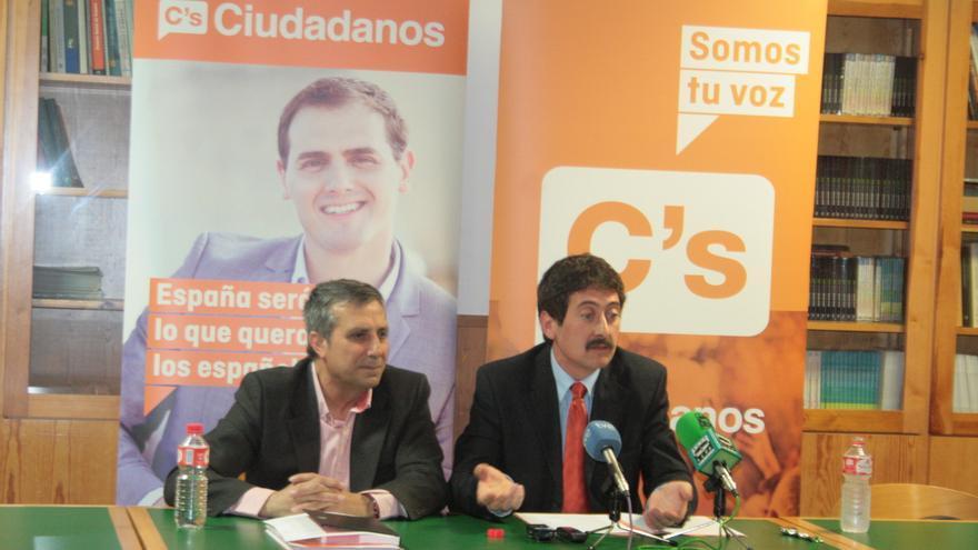 Presentación del candidato de Ciudadanos en Toledo