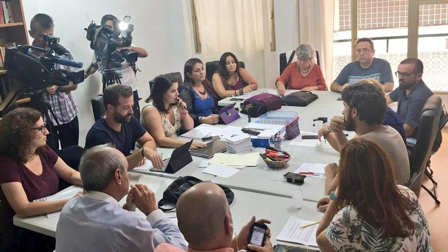 Primer consejo de coordinación de Podemos Canarias