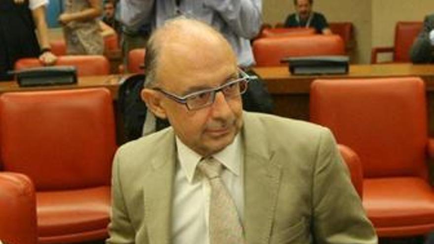 El coordinador económico del PP, Cristóbal Montoro