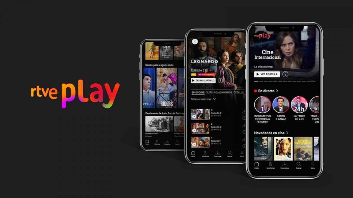 RTVE Play, la nueva app de RTVE