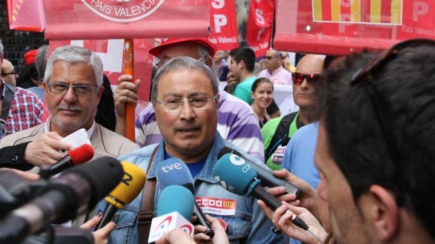 Paco Molina, Secretario General de CCOO del País Valencià