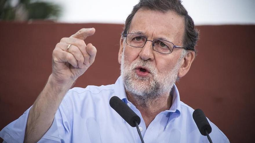 Rajoy de campaña en Lleida, Sánchez en Zaragoza y Vitoria y Rivera en Madrid