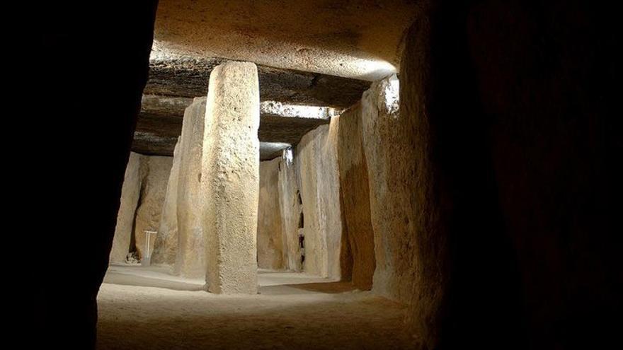 Los dçolmenes de Antequera recientemente han sido nombrados Patrimonio de la Humanidad. Foto: Turismo de Andalucía