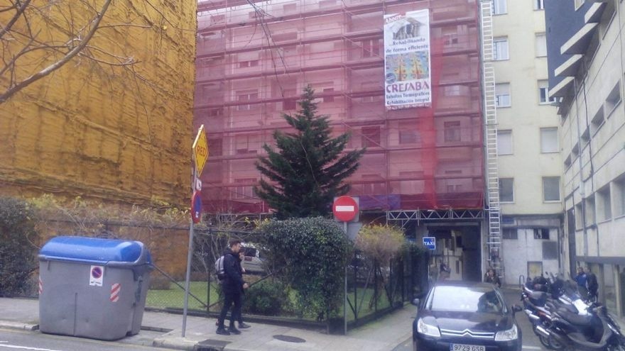 El estudio de detalle para construir el edificio administrativo en la calle La Paz, el jueves al Pleno