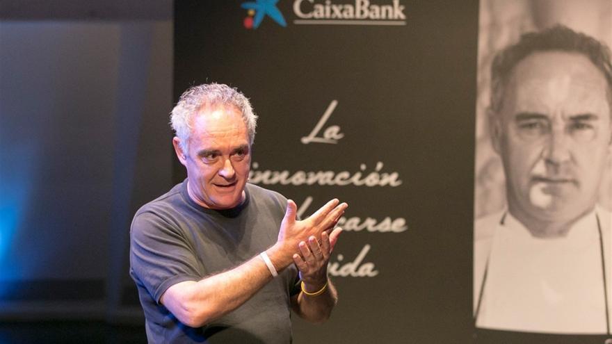 Ferrán Adriá, este jueves en el Auditorio de Tenerife