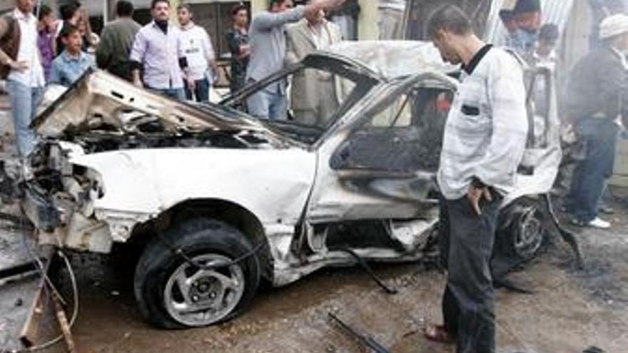 Al menos cinco muertos y 45 heridos en una explosión de un coche bomba en Irak