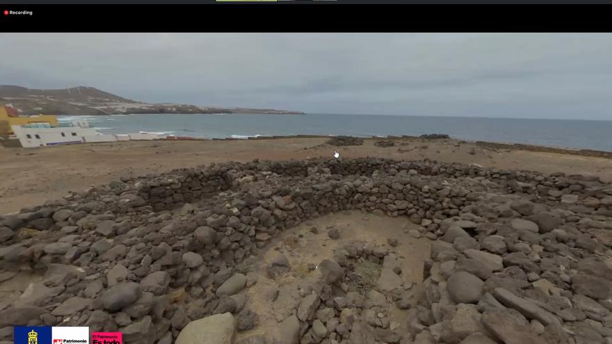 Yacimientos de Gran Canaria visitados durante una ruta virtual