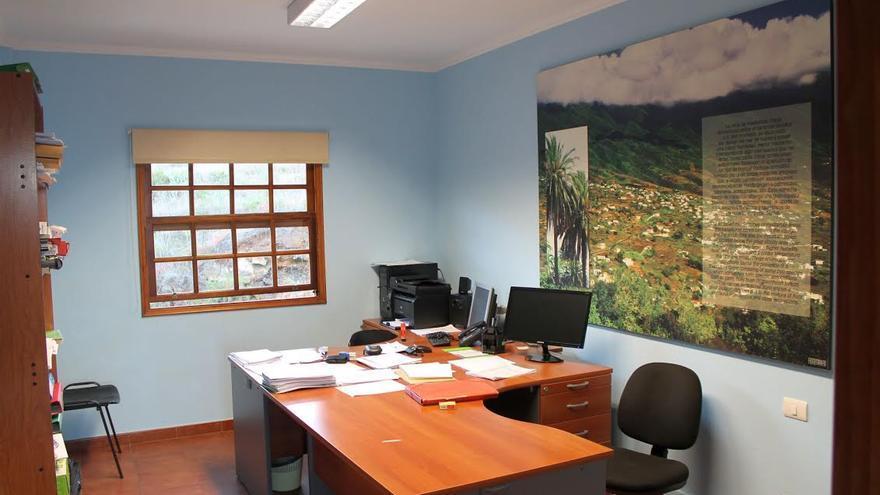 La oficina de la Agencia de Protección del Medio Urbano y Natural  en la Isla (en la imagen) se encuentra en La Grama, Breña Alta, en el mismo inmueble que alberga al Cecopin.