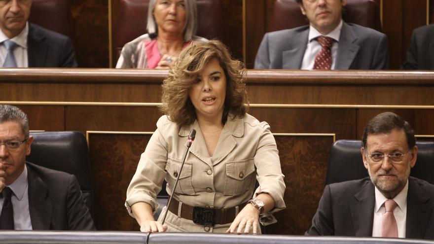 """Santamaría dice que el Gobierno tomará una decisión sobre el rescate """"cuando tenga las cosas atadas y bien atadas"""""""