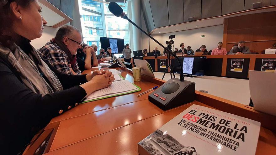 La impunidad del franquismo, a debate en la Eurocámara.