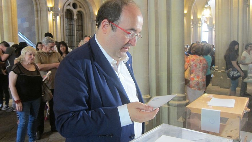 Iceta (PSC) propone un Gobierno alternativo de PSOE, Podemos y Ciudadanos si Rajoy fracasa